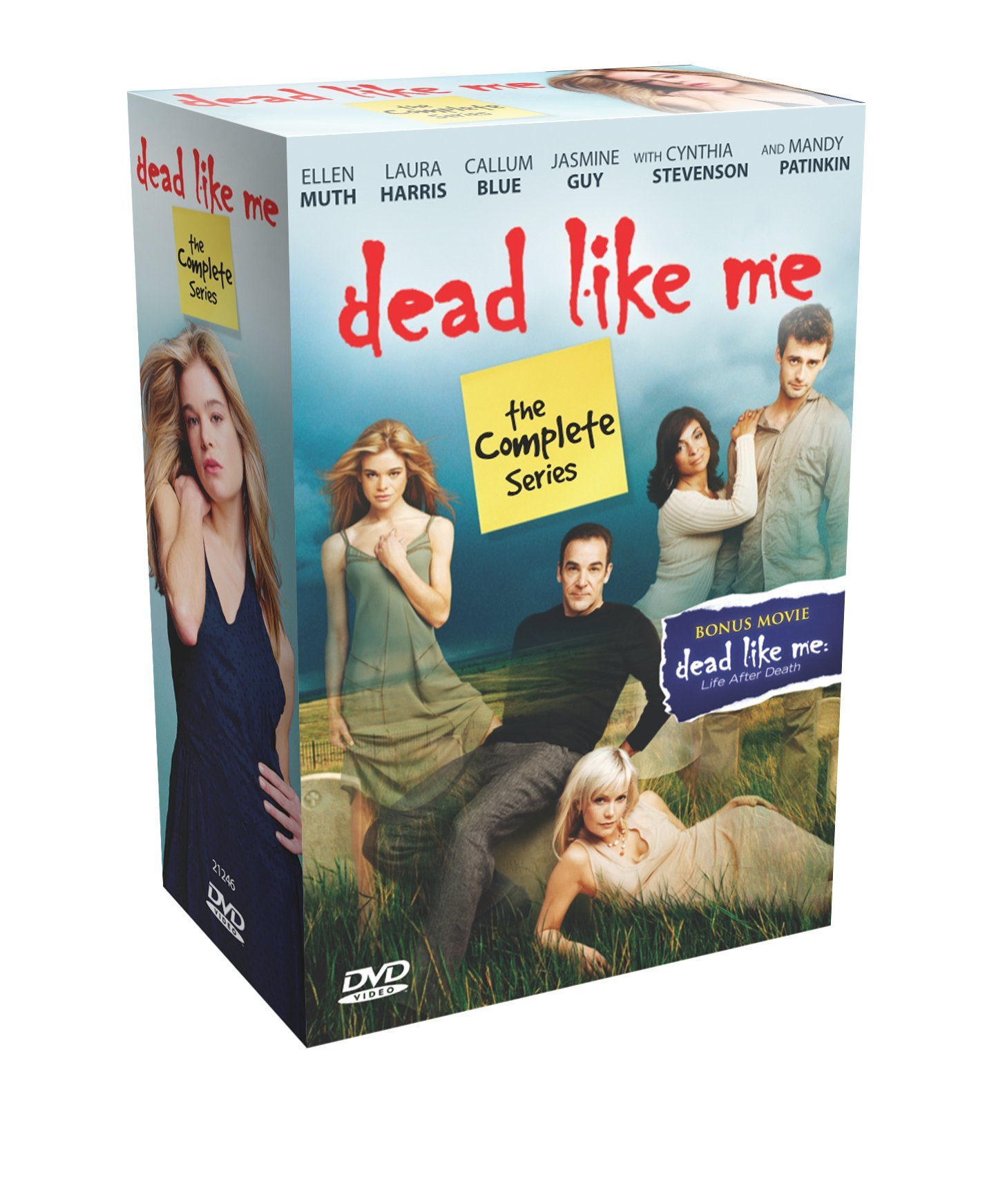 Dead Like Me: The Complete Series (Ellen Muth, Mandy Patinkin, Laura Harris, Callum Blue) by TGG Direct, LLC