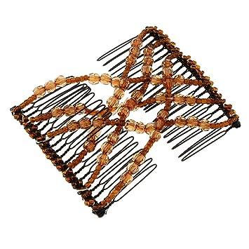 Double Clip Comb Afrikanische Schwarz Haarklammer Haarspange Haarclips