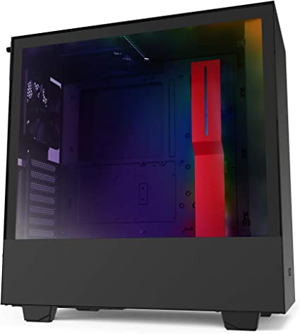 NZXT H510i - Caja PC Gaming Semitorre Compacta ATX - Panel frontal ...