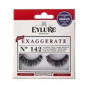 5c8df558036 Claire's Girl's Eylure Exaggerate 142 False Lashes Black: Eylure ...