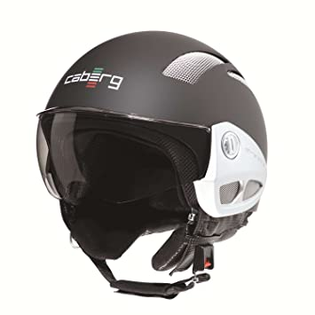 Caberg Breeze – Casco Jet Mate Negro