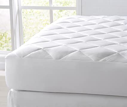 Amazoncom Great Bay Home Cooling Mattress Pad Extra Plush