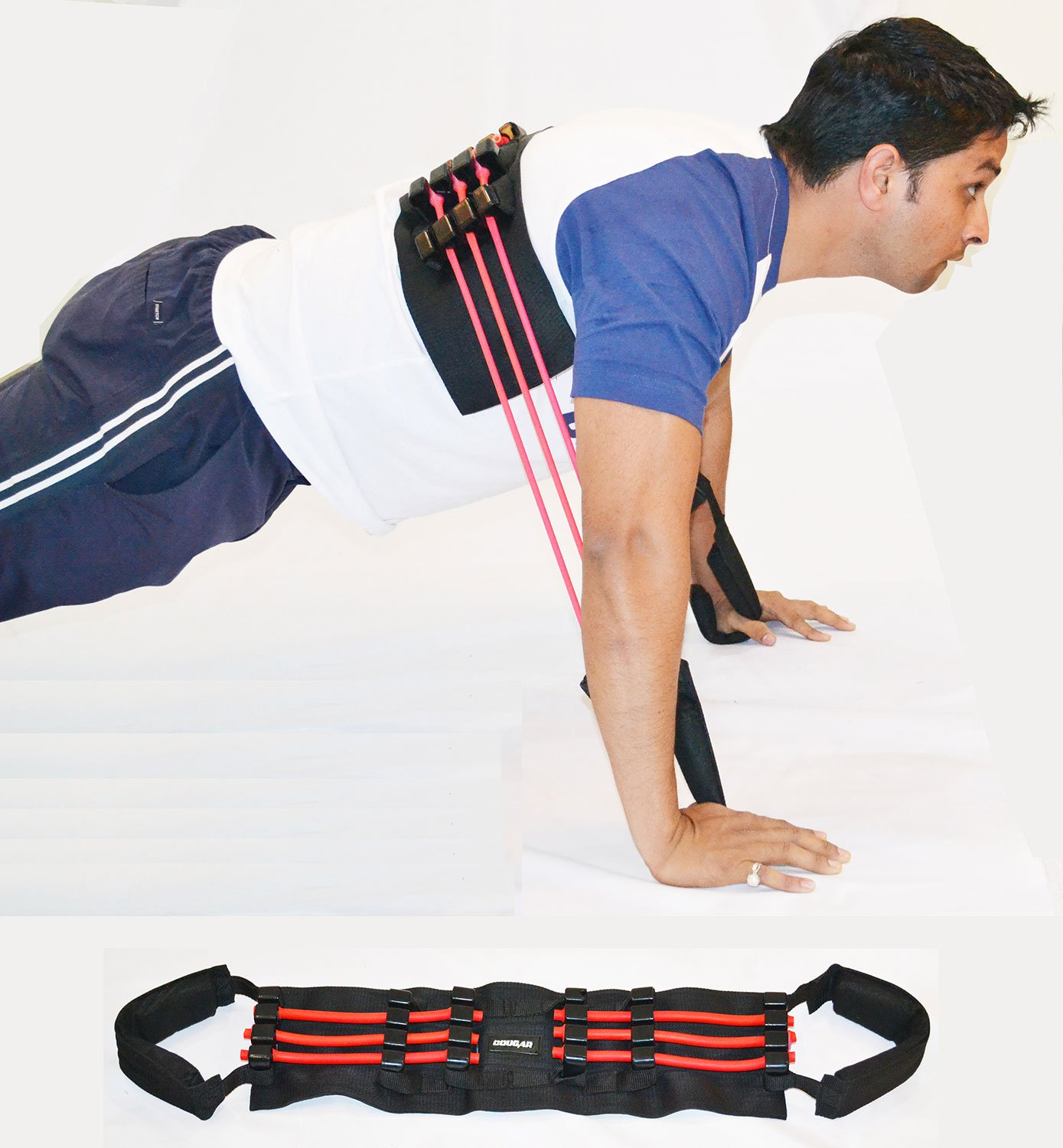 Cougar POWER PUSH UP/CHEST EXPANDER LIGHT