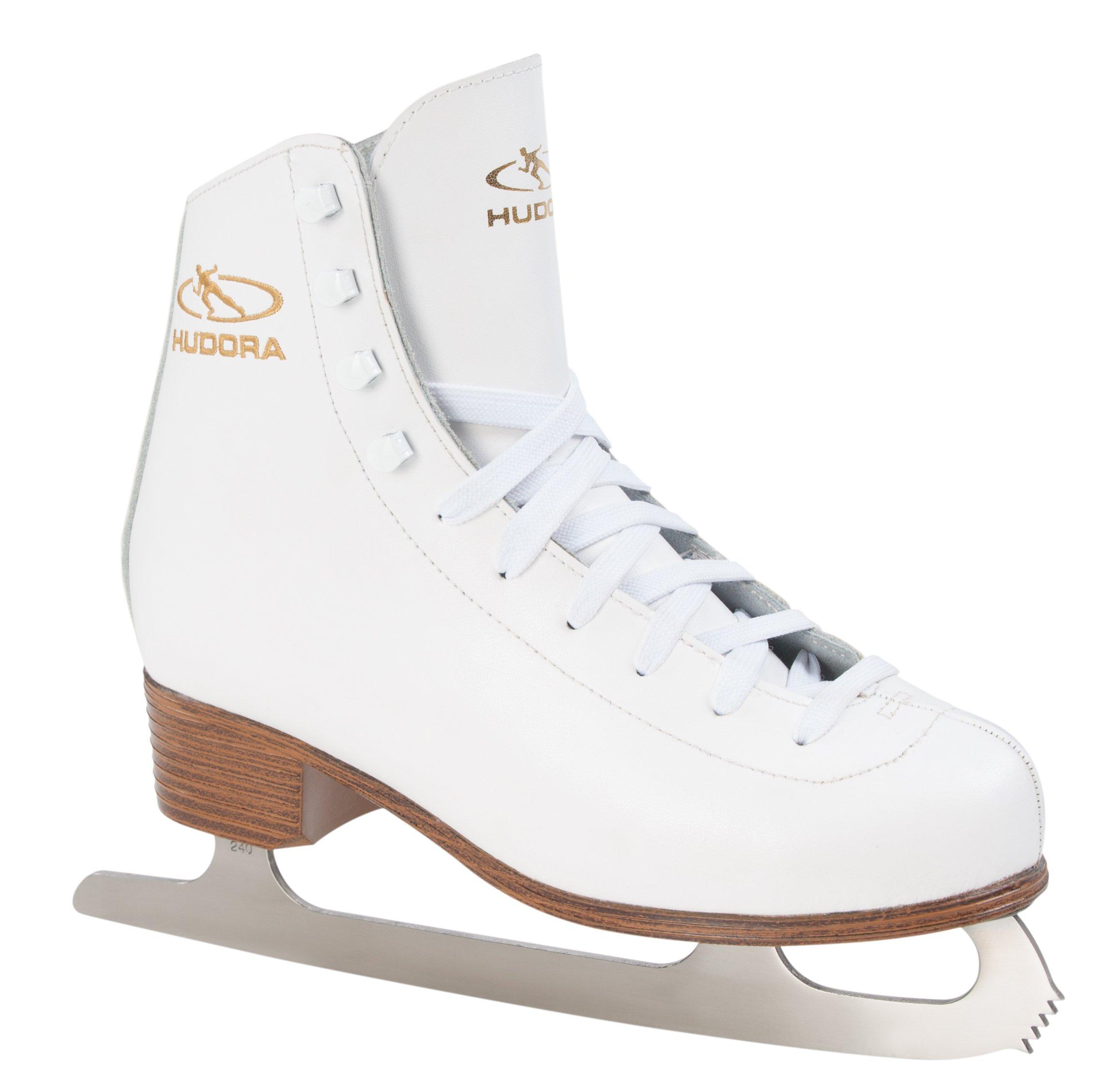 HUDORA ''Laura Ice Skates Set, Size 6, 5, White