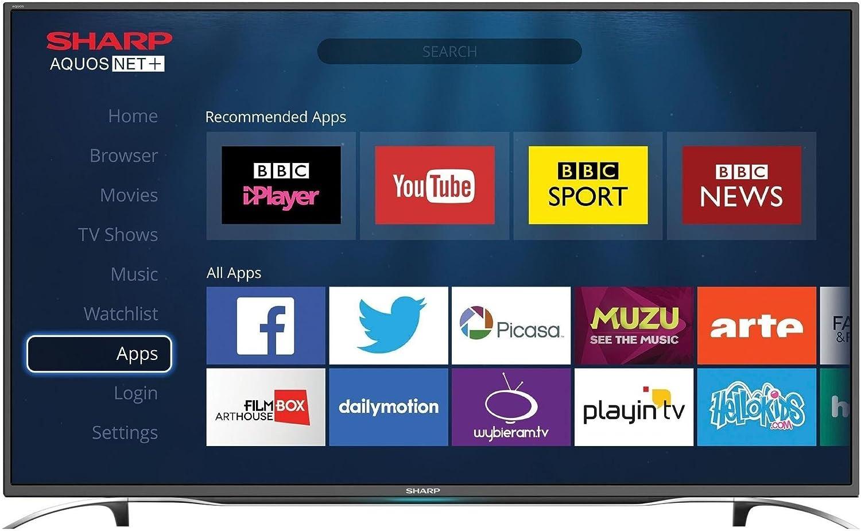 Televisor LCD, LED y Plasma – Sharp lc-40cfe6352e – Televisor LED Full HD 40 Pulgadas (102 cm) – 1920 x 1080 Pixels – TNT, Cable y Satellite HD – HDTV 1080p – Wi-Fi – DLNA – 400 hz: Amazon.es: Electrónica