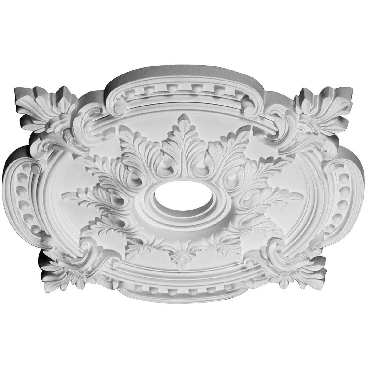 Ekena Millwork CM28BE 28 3/8-Inch OD x 4 1/2-Inch ID x 1 5/8-Inch P Benson Classic Ceiling Medallion by Ekena Millwork (Image #2)