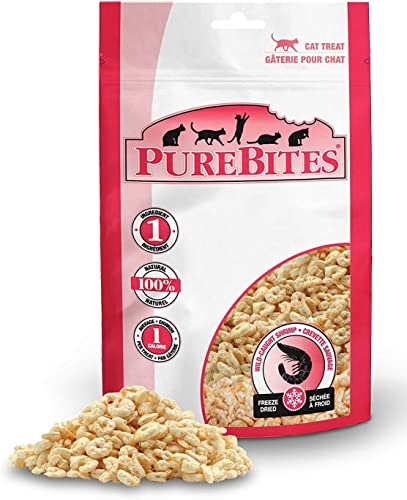 PureBites Shrimp Freeze-Dried Treats for Cats