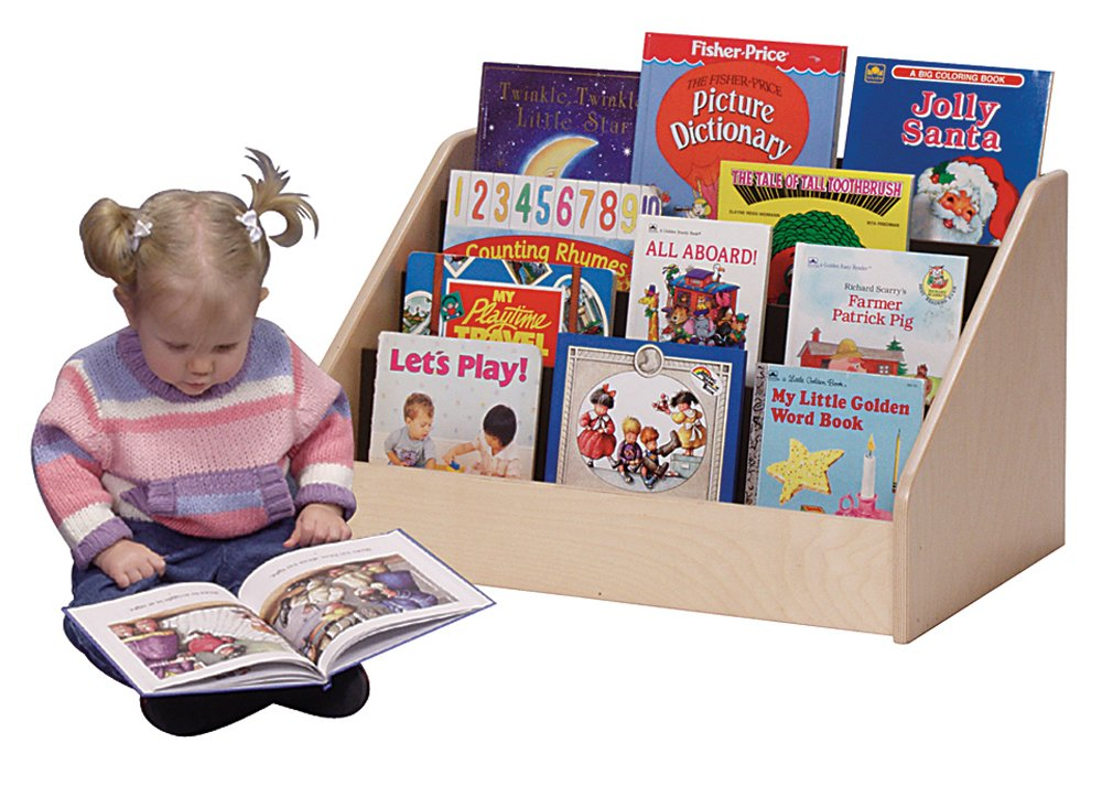 Image of Steffy Wood Products Toddler Low Book Display Cabinets & Shelves