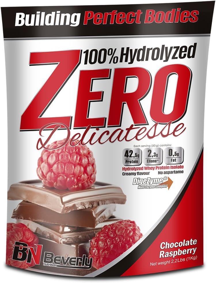 Beverly Nutrition Delicatesse Hydrolyzed Zero Proteína Hidrolizada Sabor Chocolate Frambuesa - 1000 gr