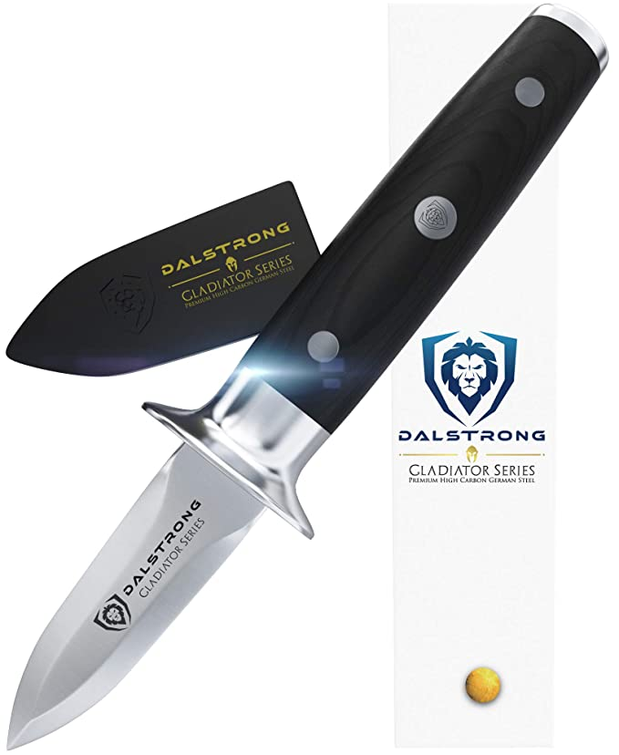 Best Oyster Knives : DALSTRONG Oyster Shucking Knife