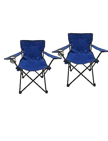 HOMECALL Campingstuhl blau