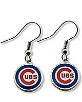 MLB Chicago Cubs Logo Dangler Earrings