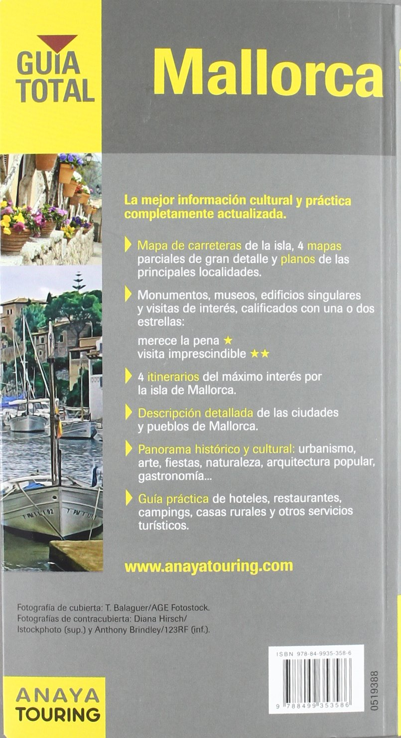 Mallorca (Guía Total - España): Amazon.es: Rayó Ferrer, Miquel: Libros