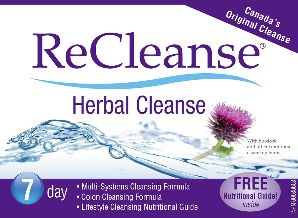 Prairie Naturals Recleanse 7 Day Herbal Cleanse Kit, 3.5 Ounce