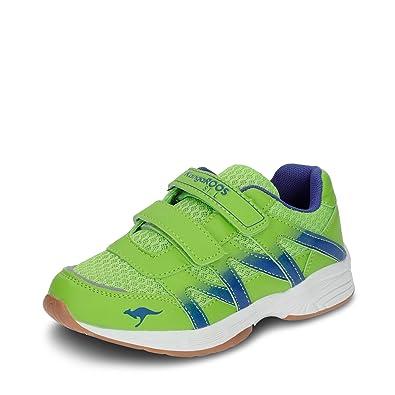 KangaROOS Kinder Sneaker 18193 7006 Jungen Sportschuh Klettverschluss Grün1760435031