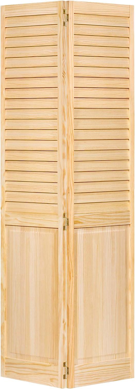 Closet Door, Bi-fold, Louver Panel Plantation (32x80)