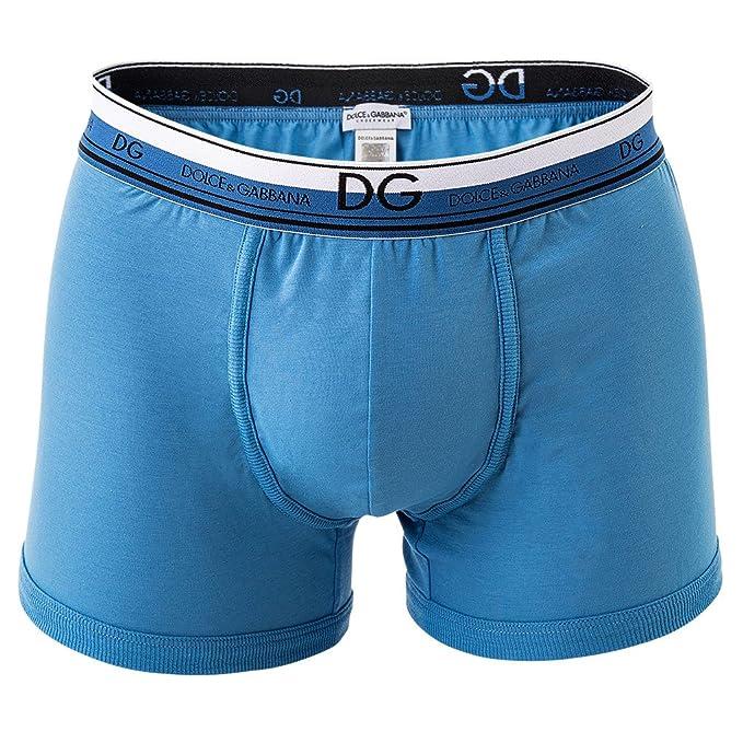 Dolce & Gabbana hombre bóxer Shorts, regular calzón, stretch, liso, logotipo Federal: Amazon.es: Ropa y accesorios