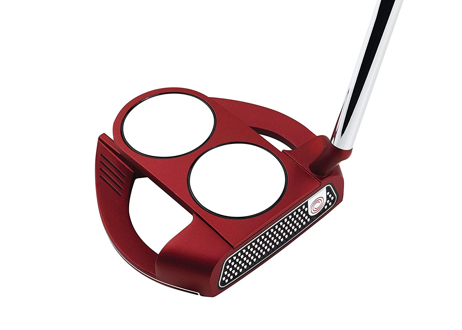 Odyssey O-Works Red 2-Ball Fang Slant Putter, 35 in Renewed