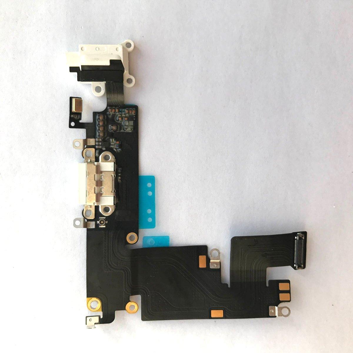 Puerto de Carga para iPhone 6 PLUS White 5.5