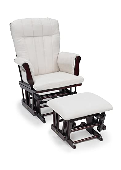 size 40 eabed 0454f Graco Avaalon Glider Rocker with Ottoman, Cherry (Discontinued by  Manufacturer)