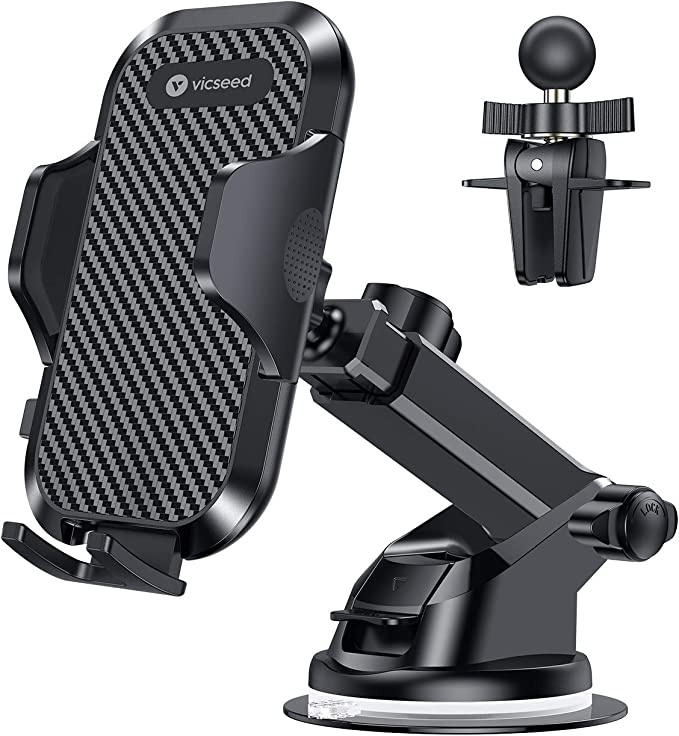 S10 Andobil Magnetic Phone Car Mount Upgraded Hands-Free/Air Vent Phone Holder for Car Compatible with iPhone 11 Pro Max Xs Max Xr X 8 7 6 Plus Samsung Galaxy Note 10 S20 S20 S9 S8 Pixel 4//3//2 More