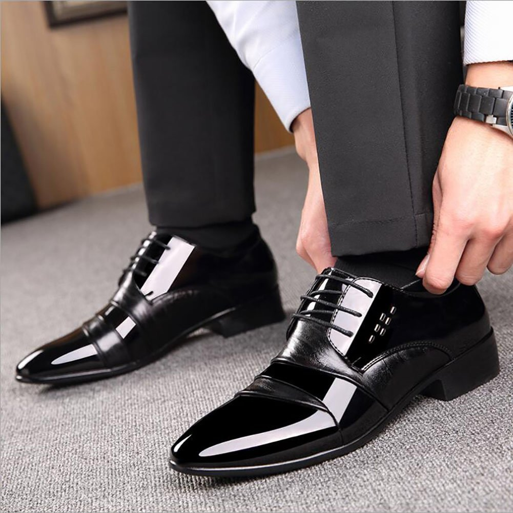 GFP Leather Shoes Mens Fashion Shoes Work Comfort Shoes Spring//Fall Walking Shoes Formal Business Leather Shoes Wedding Leather Shoes
