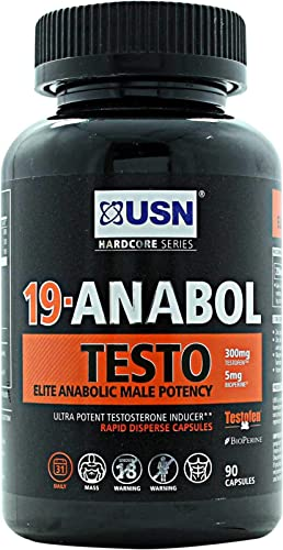 Magnum Nutraceuticals Tonic – 90 Capsules – Natural Test Booster – For Men Women – Increase Energy – More Lean Muscle