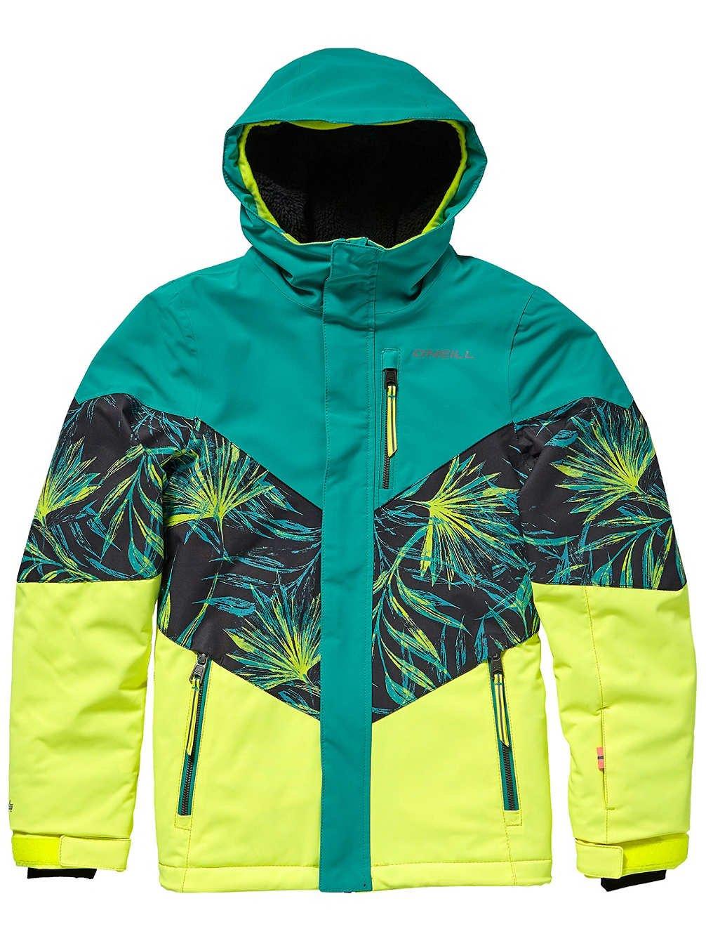 Turquoise 116 cm O'Neill Coral Veste de Snowboard pour Fille 5XL