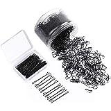 Elastic Hair Bands Hair Pins Kit - 2500 PCS Mini Rubber Hair Bands + 100 PCS Bobby Pins with Storage Box Hair Styling…
