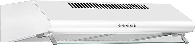 Scandomestic classic - Campana EMV104 blanca clase de eficiencia energética e [Clase de eficiencia energética D]: Amazon.es: Grandes electrodomésticos