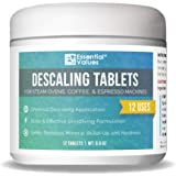 Descaling Tablets (12 Count/Up To 12 Uses) For Jura, Miele, Bosch, Tassimo Espresso Machines and Miele Steam Ovens by Essenti