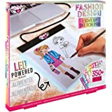 Fashion Angels Fashion Design Light Up Sketch Pad 12521, Light Up Tracing Pad, Includes USB, Ultra Thin Tablet, Includes Sten