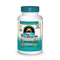 Source Naturals Wellness Formula Bio-Aligned Vitamins & Herbal Defense For Immune...