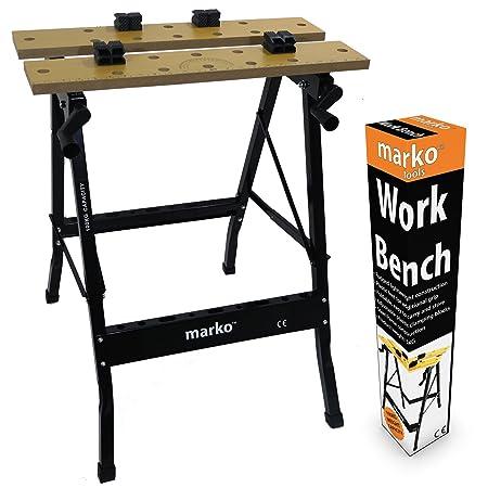 Delightful 100KG Heavy Duty Portable Folding Workbench Wood Bench Work Clamping Worktop  DIY