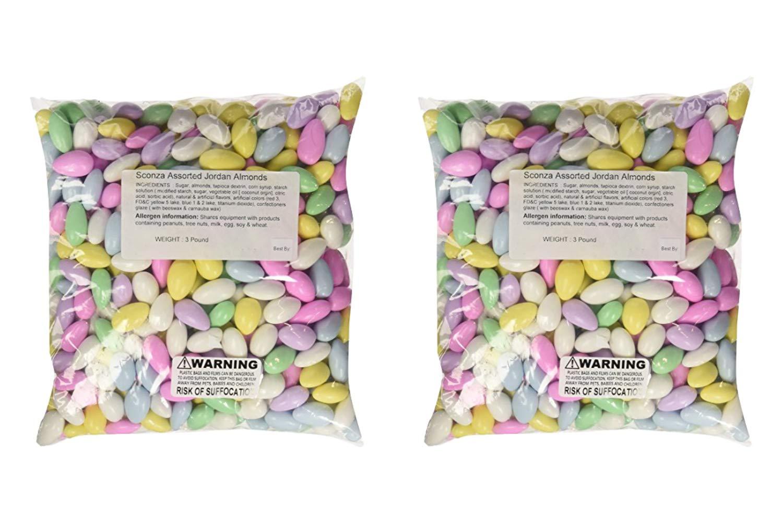 Jordan Almonds Pastel (48 Ounces) (2 Pack)