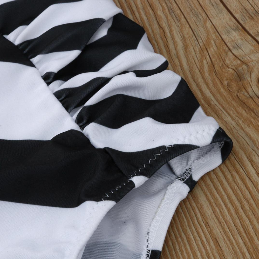 PAOLIAN Trajes de Baño de Dos Piezas Bikini Sexy Mujer Talla Grande Verano 2018 Ropa de Playa Bañador Cintura Alta Tankinis Push up Cuello Colgante Señora ...
