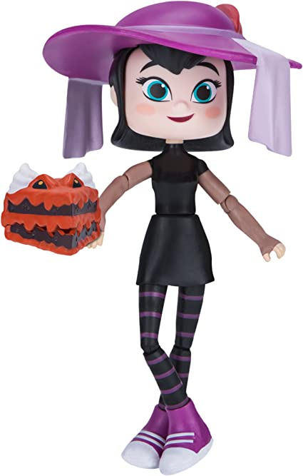 Jazwares Hotel Transylvania 3 The Series Mavis Mystery Black Purple