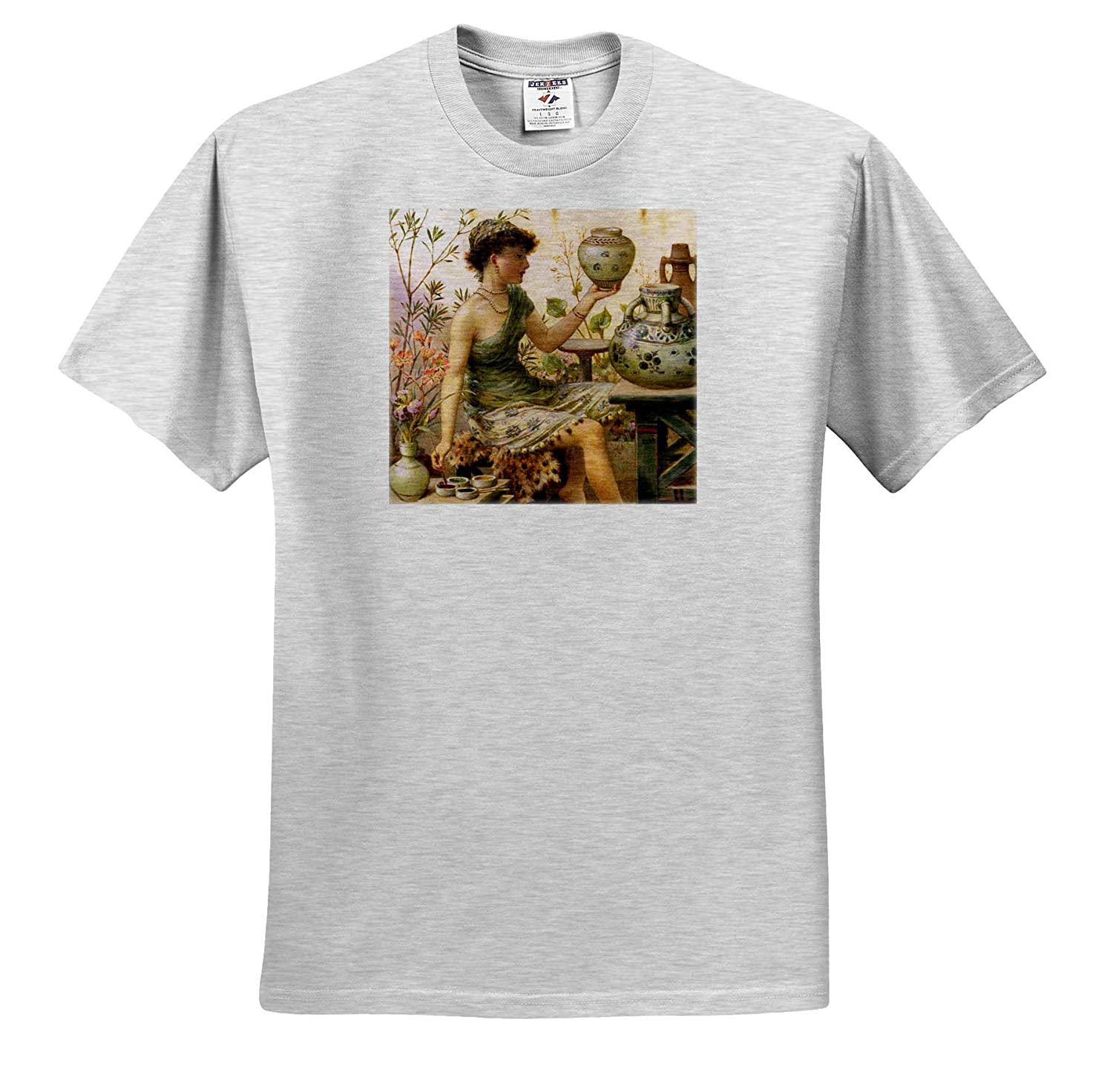 William Stephen Coleman T-Shirts Masterpieces The Potters Daughter 3dRose VintageChest