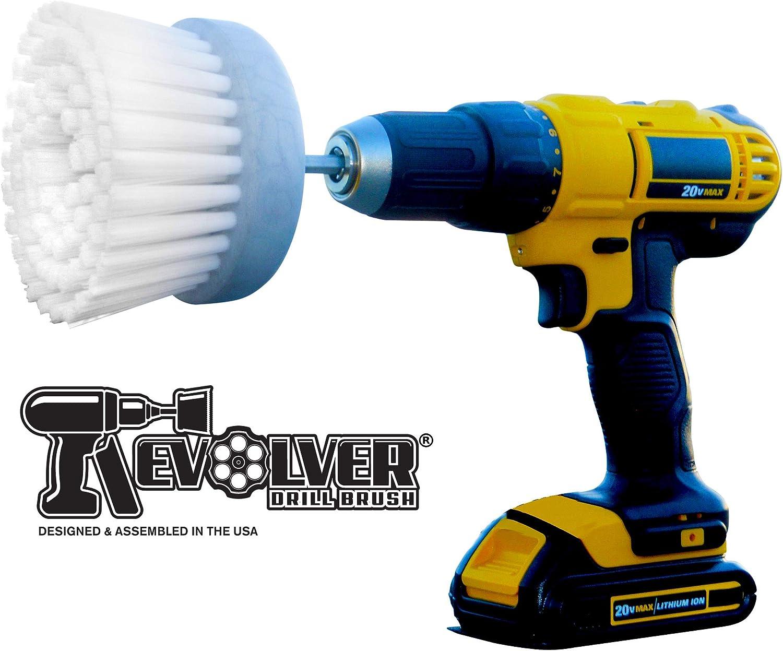 Cepillo para polvo de revólver, accesorio para taladradora, herramienta de limpieza multiuso