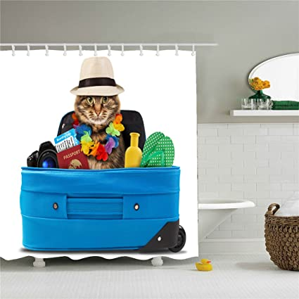 Image Unavailable Not Available For Color Cat In The Hat Shower Curtain