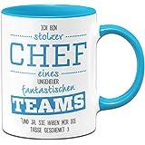 Tasse Stolze Chefin eines fantastischen Teams - Geschenke ...