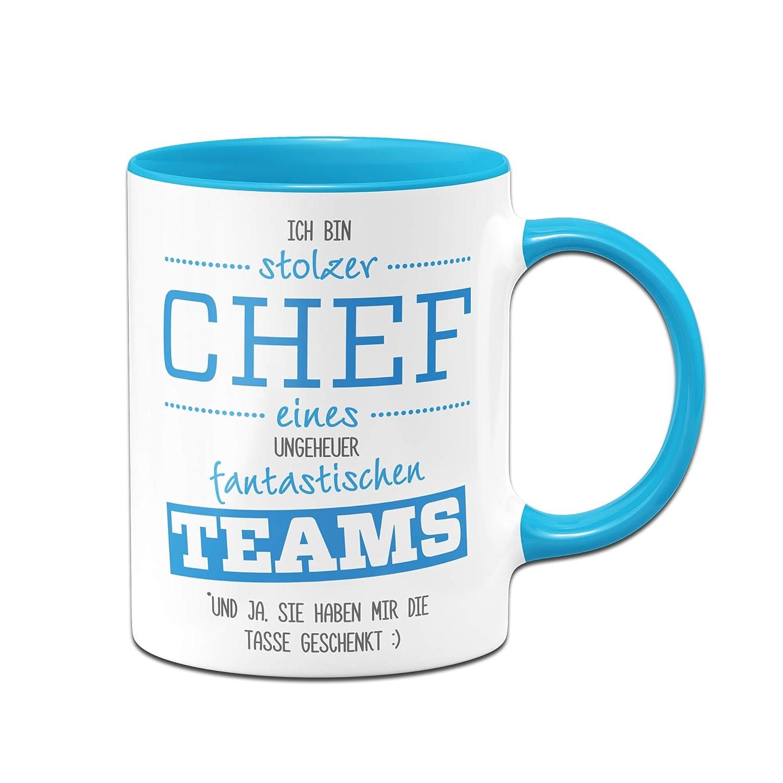 Tassenbrennerei Tasse Stolzer Chef eines fantastischen Teams ...