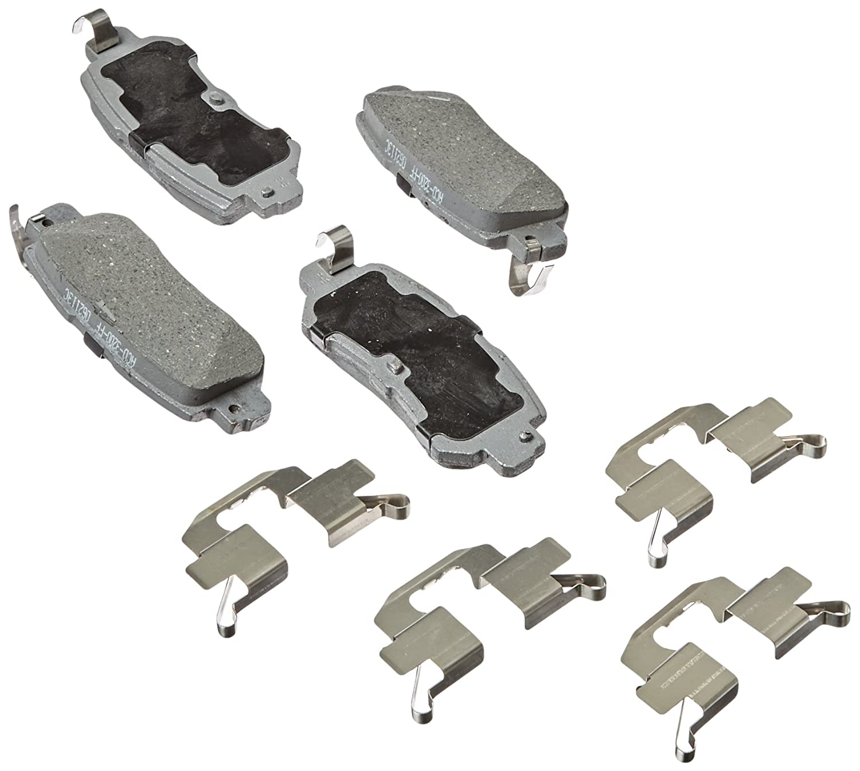 ACDelco 14D1624CH Advantage Ceramic Rear Disc Brake Pad Set