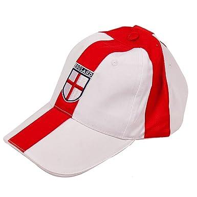 Li-Lo England Football Hat Baseball Cap One Size Mens FA World Cup Red and a61e4281ce1b