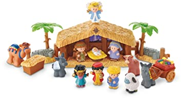 Amazon.com: Fisher-Price Little People A Christmas Story: Toys & Games