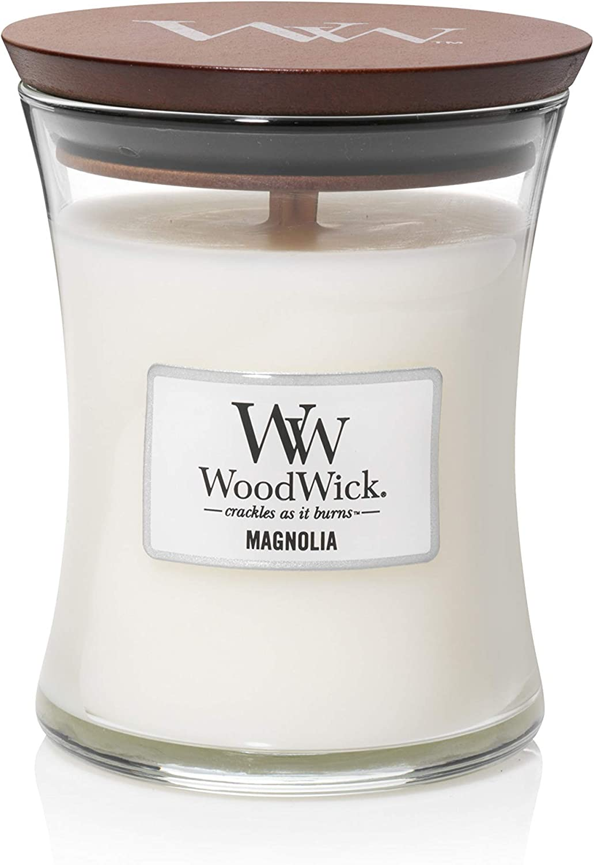 WoodWick 5038581055176 Candle Medium Magnolia, one Size