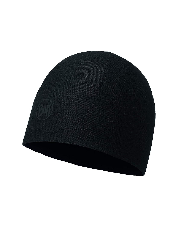 BUFF® Microfiber /& Polar Hat Erwachsene Mütze Solid Black