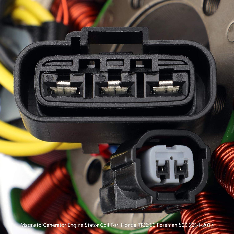 Artudatech Generator Stator Coil For Honda TRX500 Foreman 500 4x4 ES EPS 2014-2017