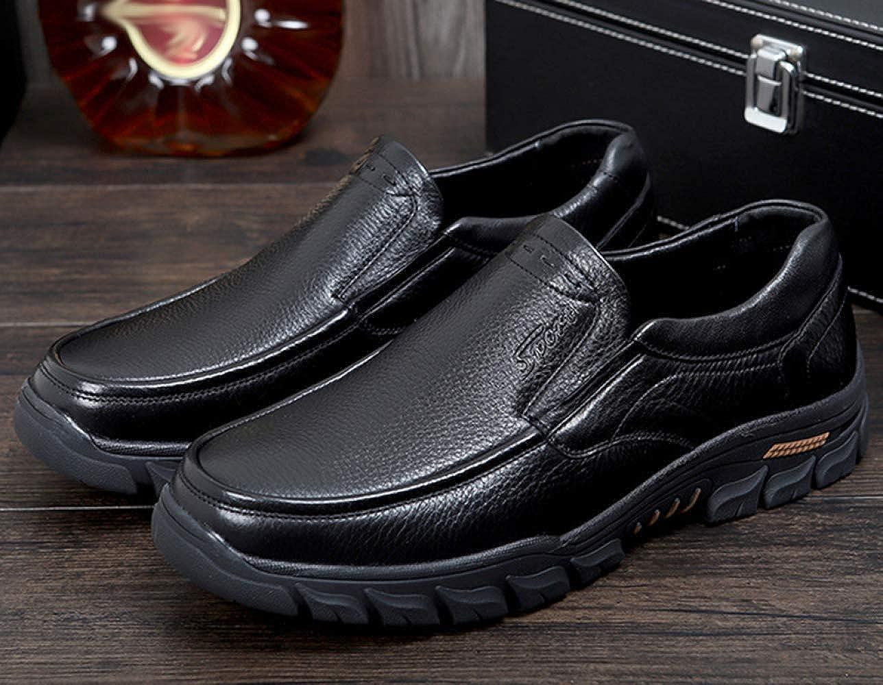 MYXUA Herrenschuhe Spitze Schuhe Business-Schuhe Und Lok Fu Schuhe Bequem Und Business-Schuhe Atmungsaktiv 2 5d2b70