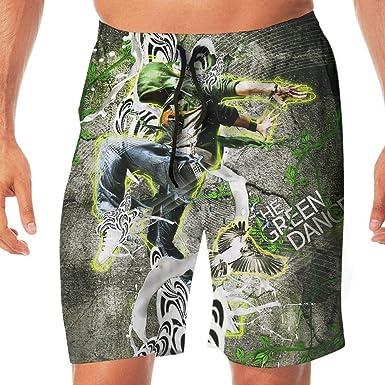 cd10331033 Men's Swim Trunks Hip Hop Dance Quick Dry Beachwear Sports Running Summer  Beach Board Shorts Vacation Surfing Bathing Suit   Amazon.com